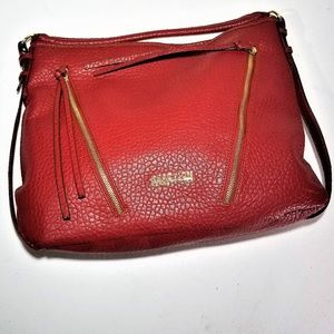 Kenneth Cole Reaction Red Leather Purse